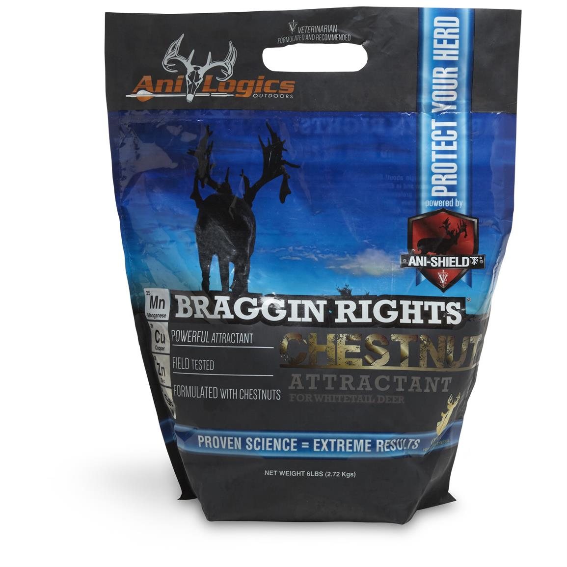 Ani-Logics Braggin Rights Chestnut Attractant, 6 lbs.