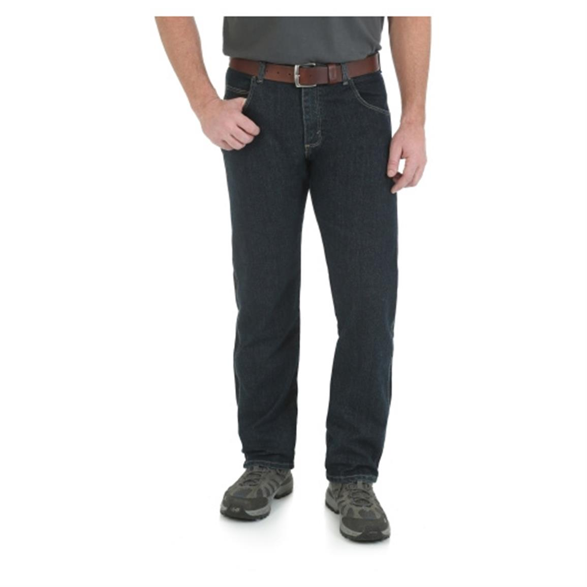 Wrangler Rugged Wear Men's Regular Fit Jean, Midnight