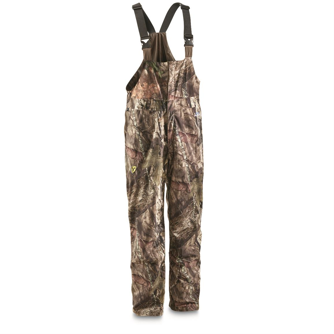 ScentBlocker Drencher Men's Hunting Bib Overalls, Mossy Oak Break-Up Country