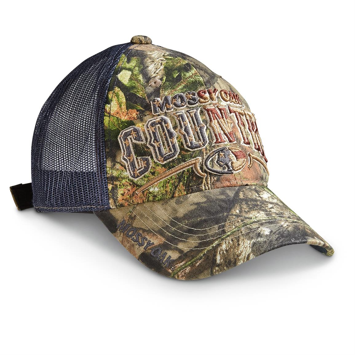 Outdoor Cap Americana Mesh Ball Cap, Mossy Oak Break-Up Country
