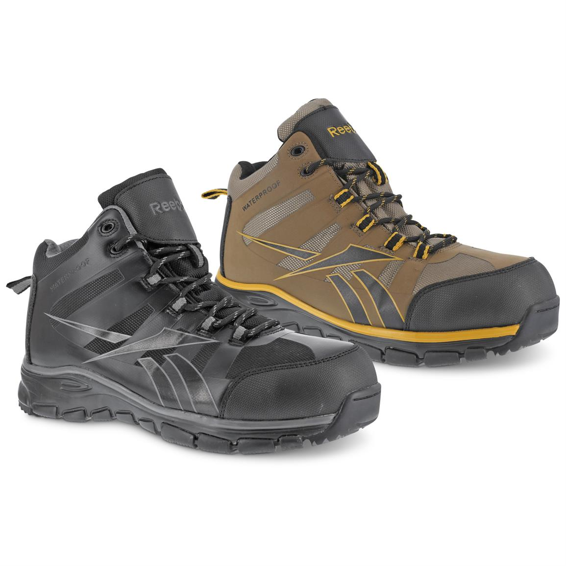Reebok Men's Arion Composite Toe Waterproof Hiking Boots