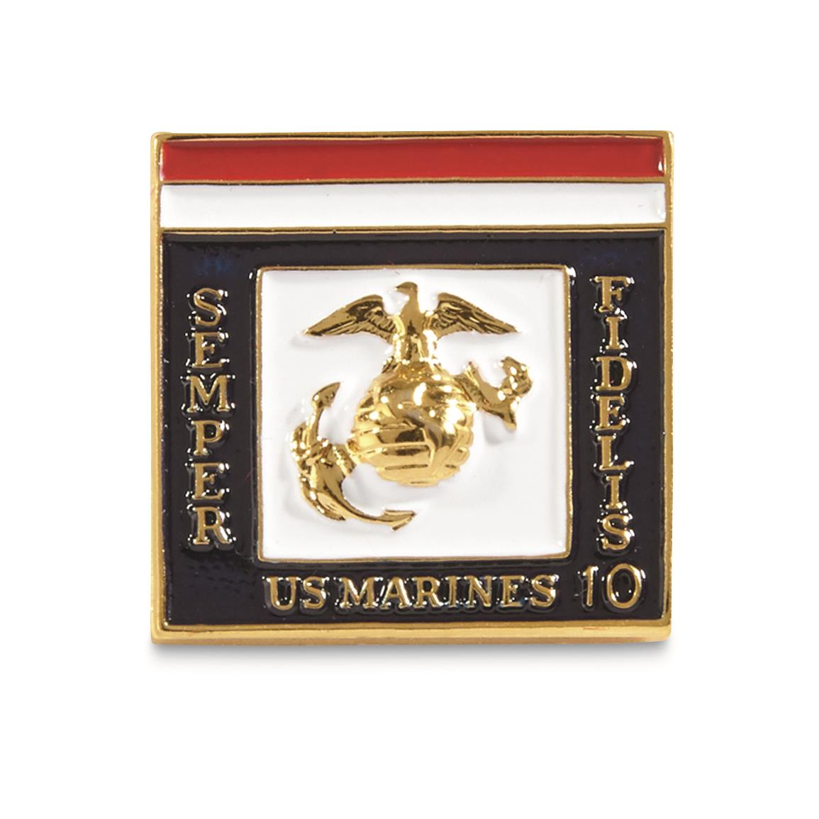 Awarded to USMC civilians for 10 years service