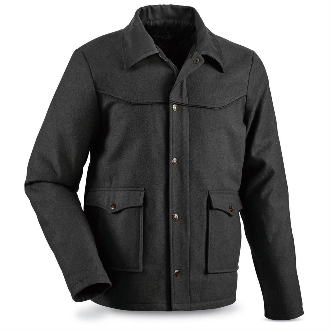 Guide Gear Men's Drover Jacket, Charcoal