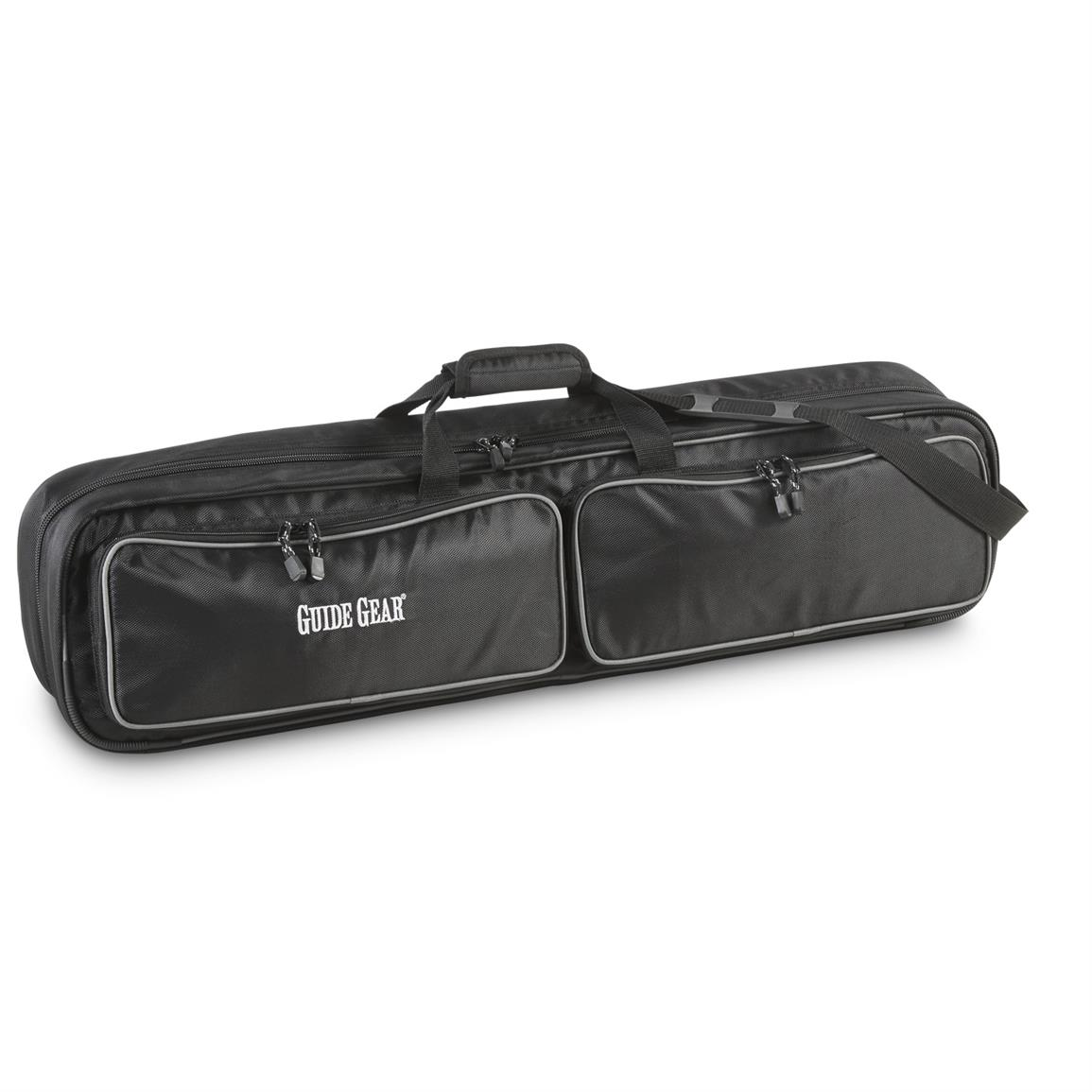Guide gear ice fishing rod case 6 rod 671083 ice for Ice fishing gear list