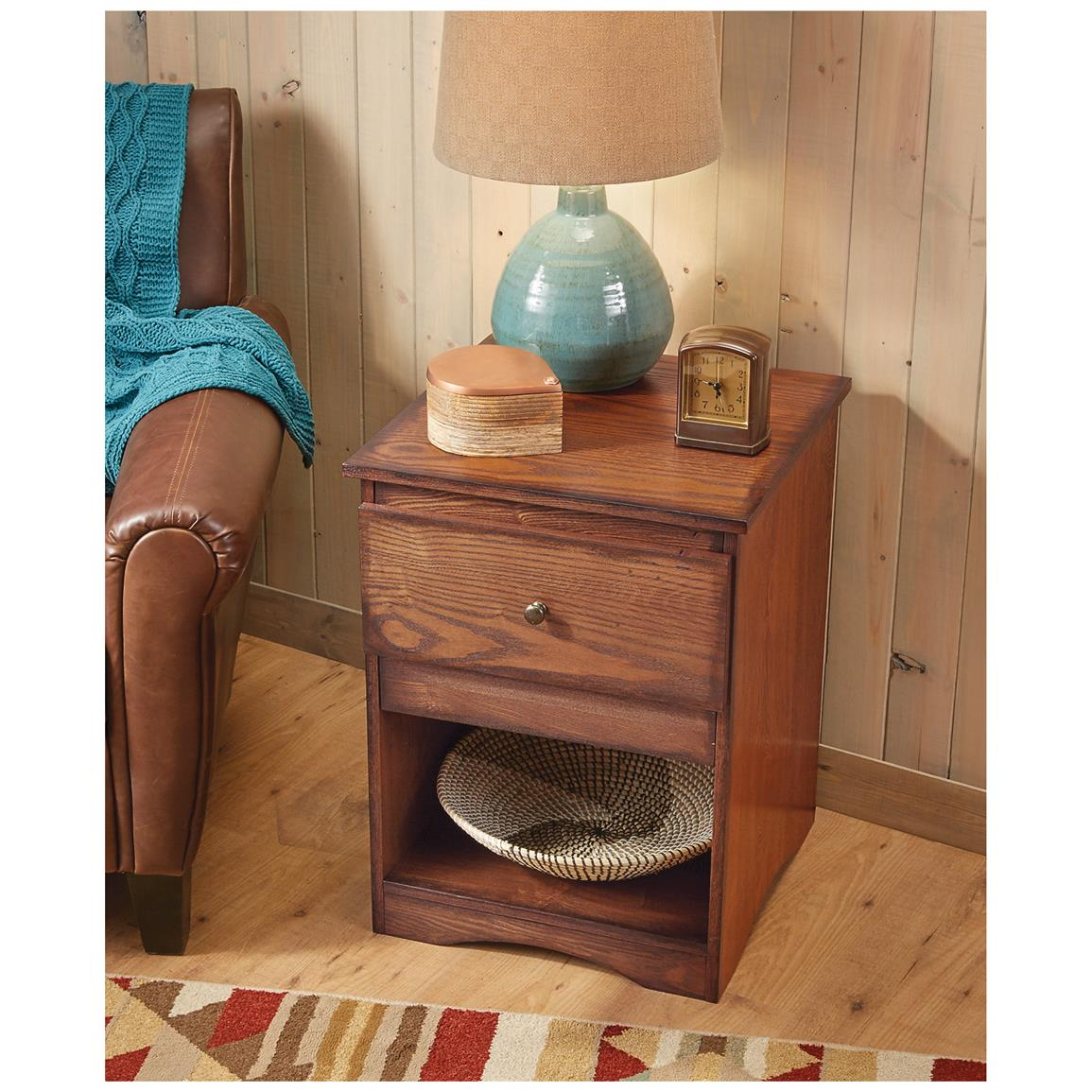 Sturdy, and durable can be used as a normal end table