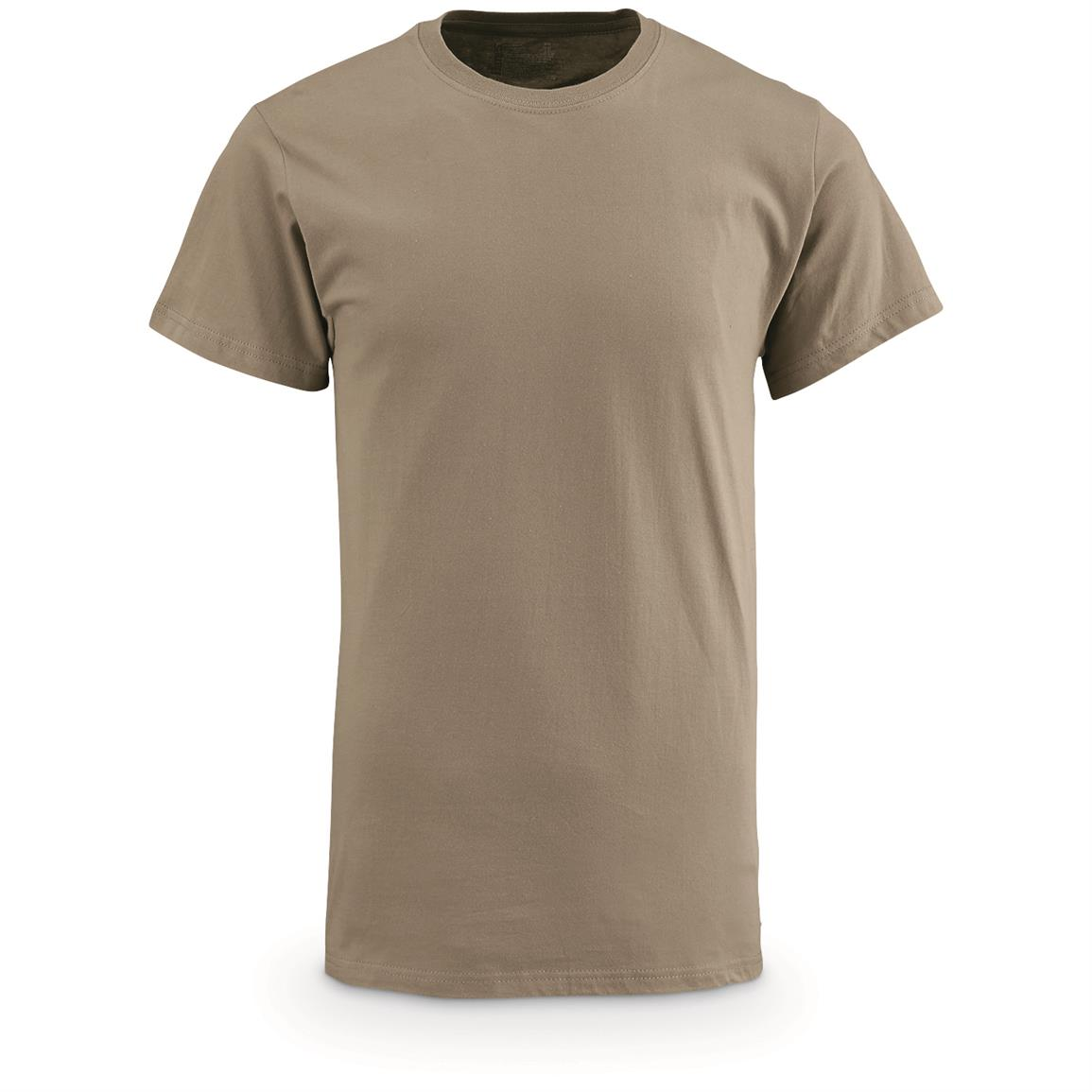 U.S. Military Issue OCP T-Shirts, New, 12 Pack