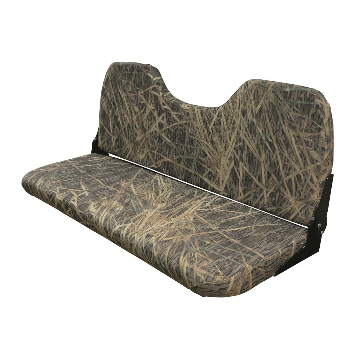 Wise 48 Quot Folding Camo Bench Seat 671369 Pontoon Seats