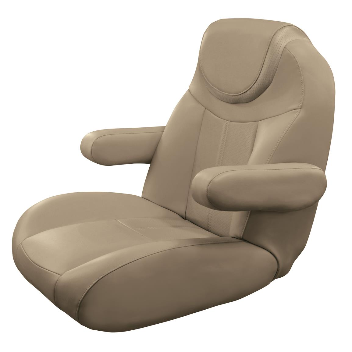 Wise Tellico Mid Back Recliner Pontoon Bucket Seat, Color F - Mocha Java