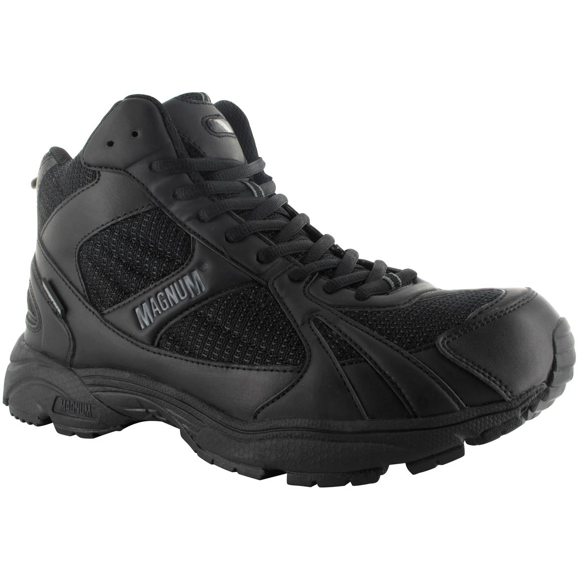 Magnum Men's M.U.S.T. Mid Cross Trainer Shoes, Waterproof, Black