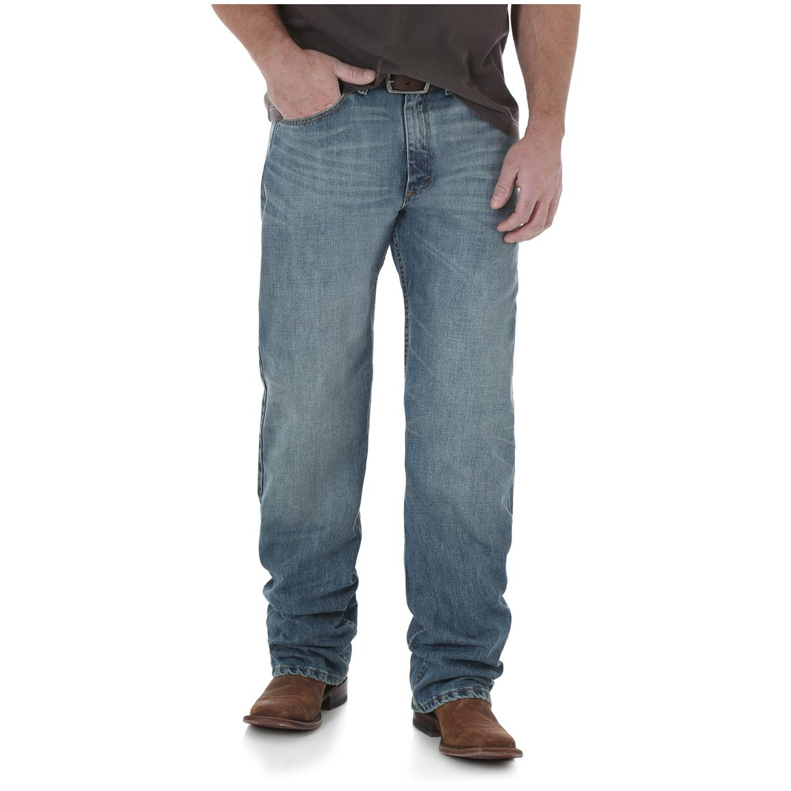 Wrangler Men's 20X 01 Competition Relaxed Jean, Dusty
