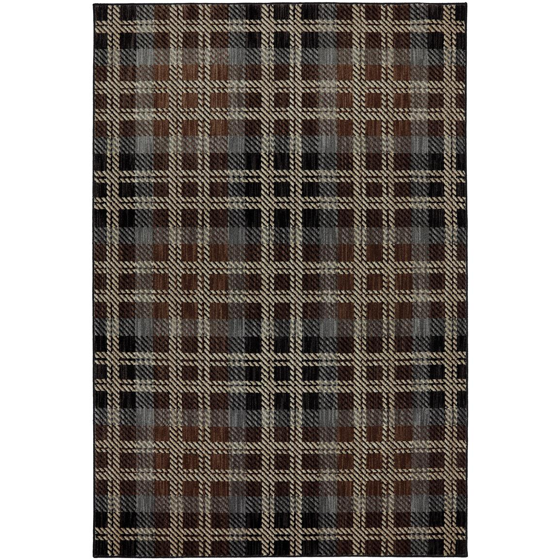 Billings Black Rug, Black