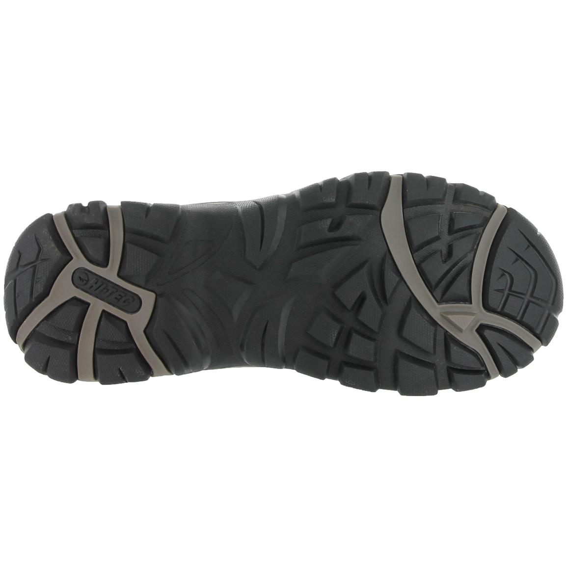 Multi-Directional Traction (MDT) rugged rubber outsole improves grip