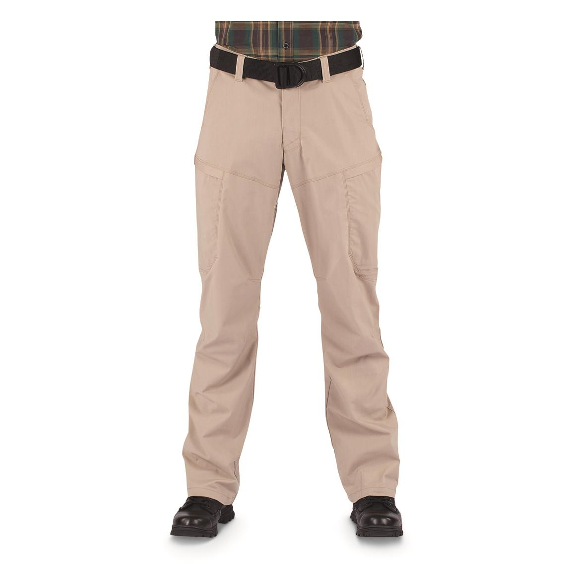 5.11 Tactical Men's Apex Pants, Khaki