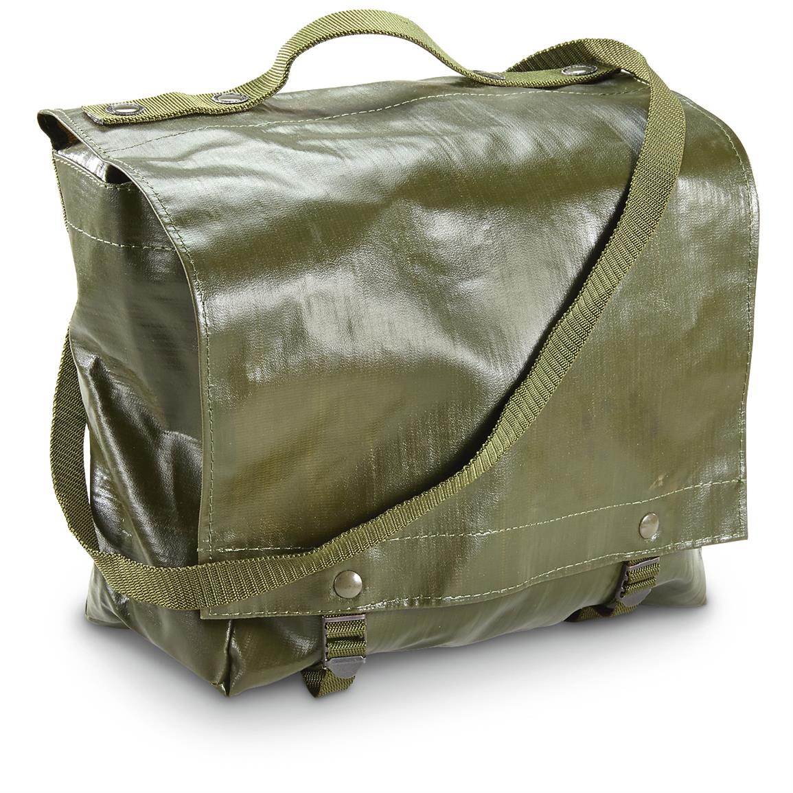 Czech Military Surplus Shoulder Bags, 4 Pack, New