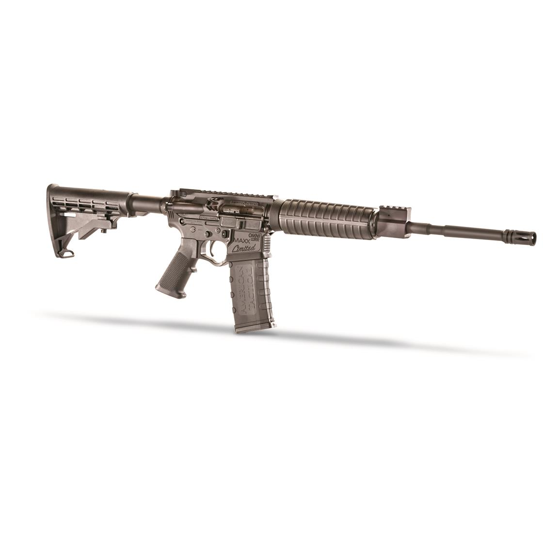 "ATI Omni Hybrid Maxx Limited AR-15, Semi-Automatic, 5.56x45mm, 16"" Barrel, 30+1 Rounds"