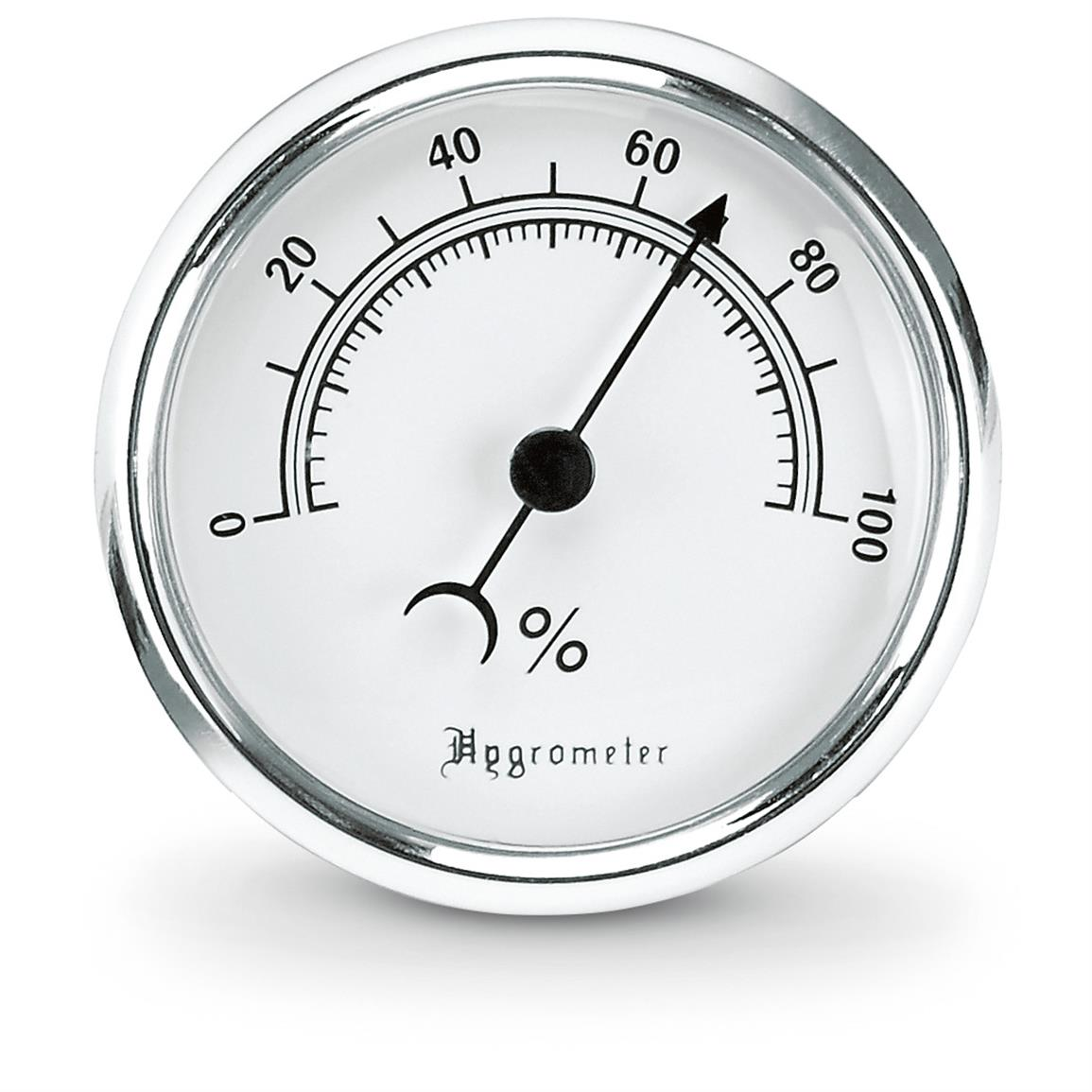 Monitor safe humidity levels with the Hygrometer