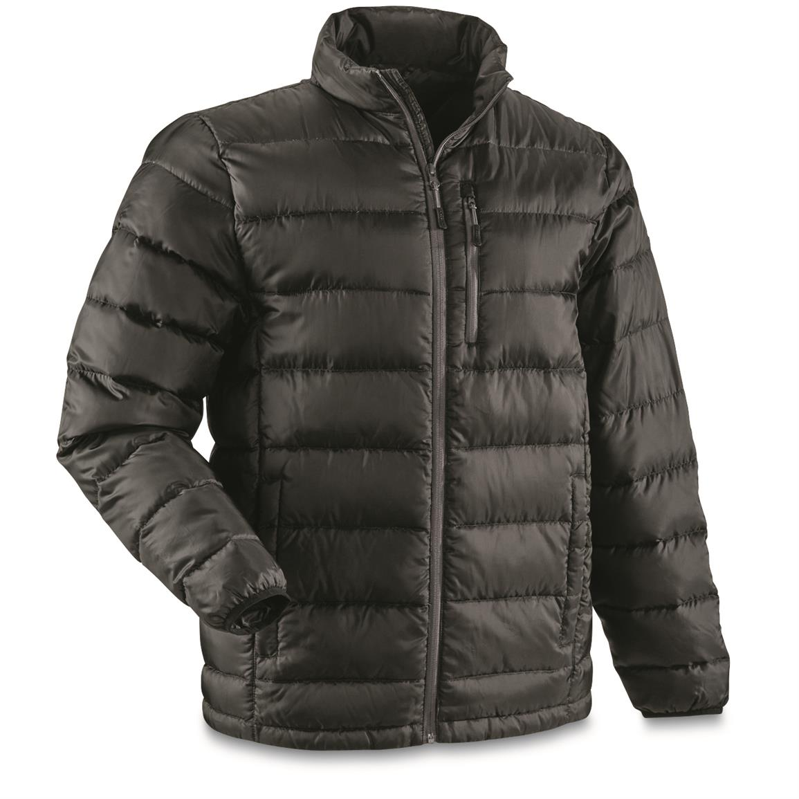 85fed59099 Guide Gear Men's Down Jacket - 673942, Insulated Jackets & Coats at ...
