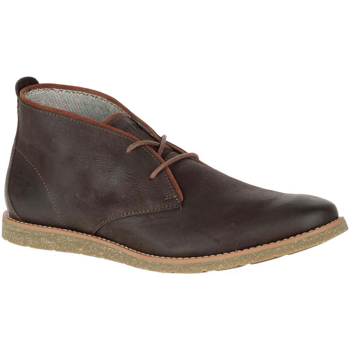 Hush Puppies Men's  Roland Jester Chukka Boots, Dark Brown