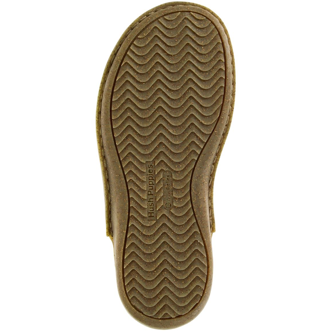 Durable rubber outsole for sure traction and grip