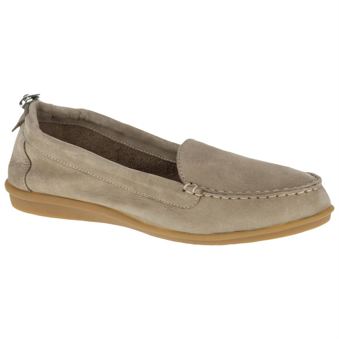 Hush Puppies Women's Endless Wink Casual Shoes, Taupe Nubu