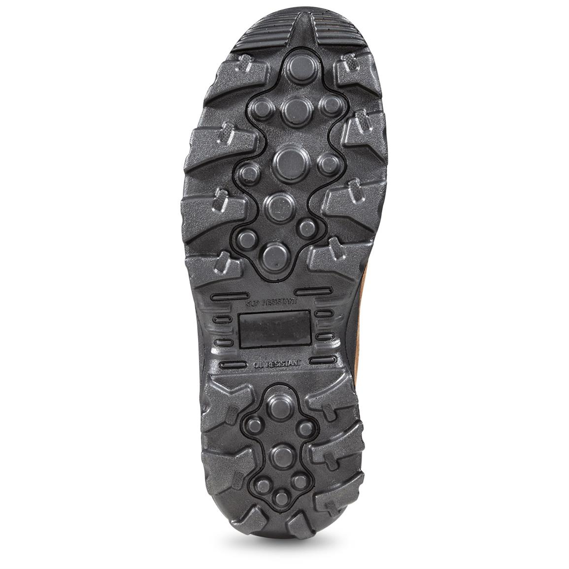 Rugged TPR outsole provides top traction