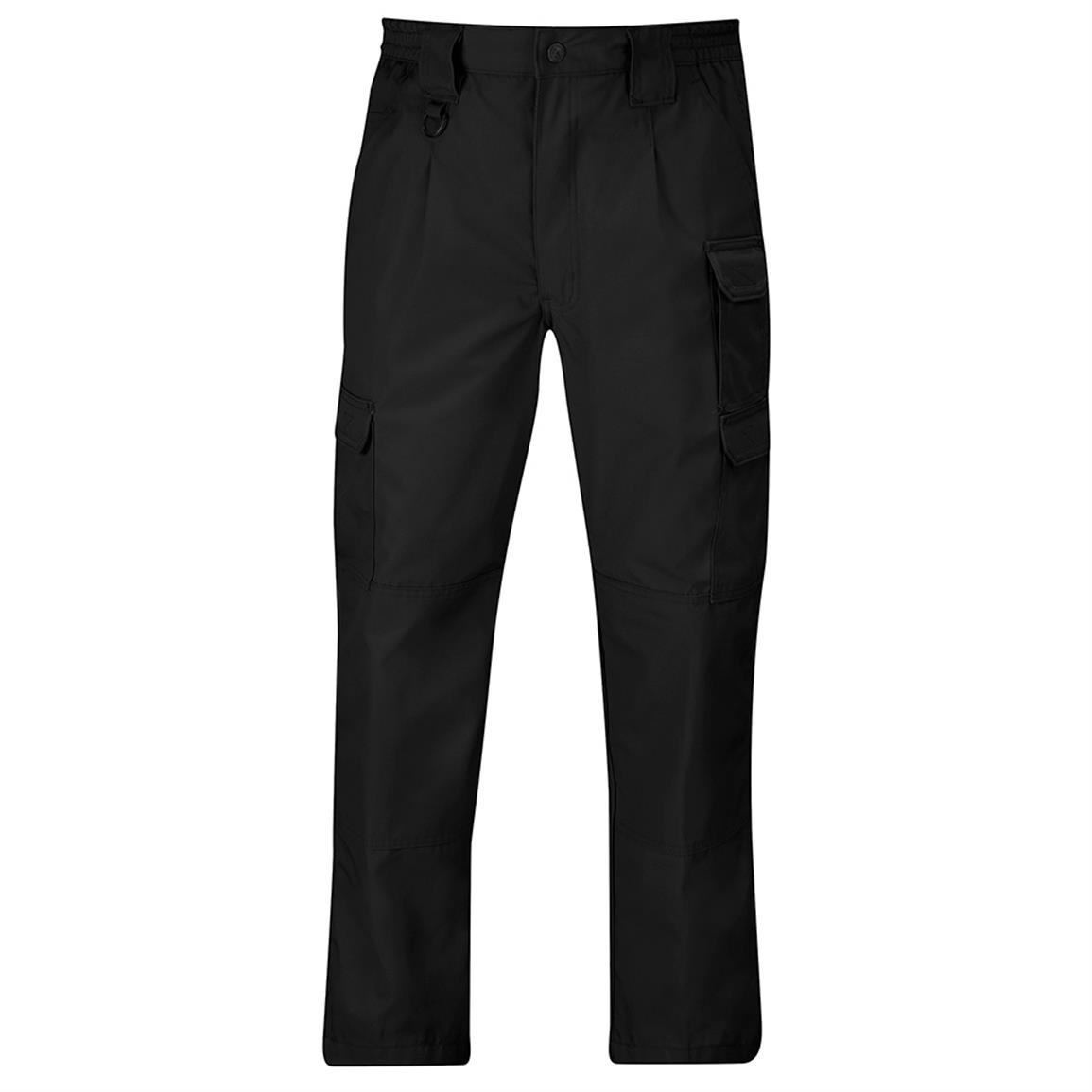 Propper Men's Canvas Tactical Pants, Black