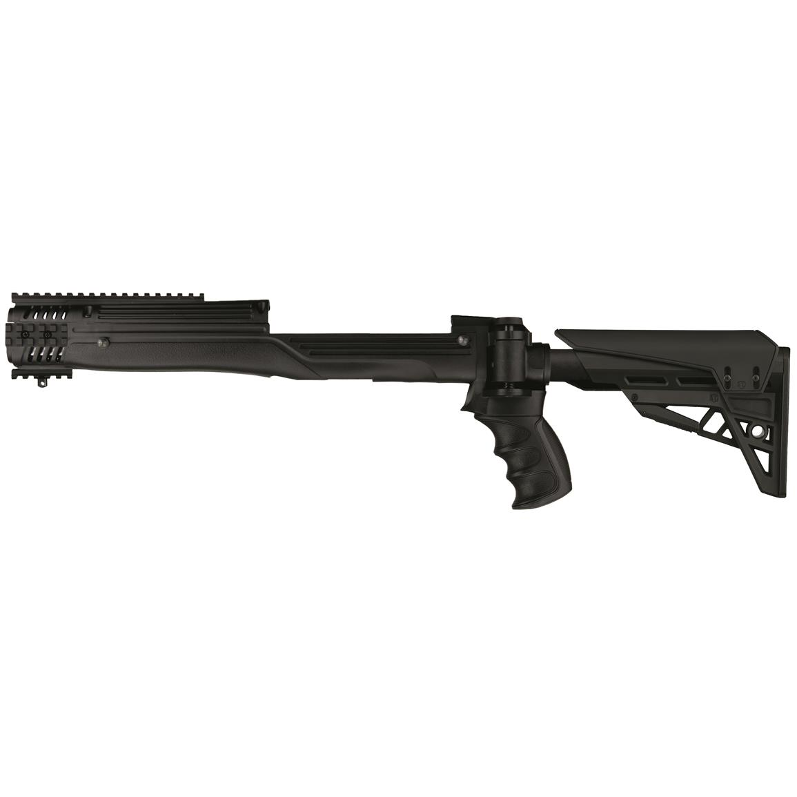 ATI TactLite StrikeForce R30 Folding Rifle Stock Fits All Ruger Mini-Thirty, Black