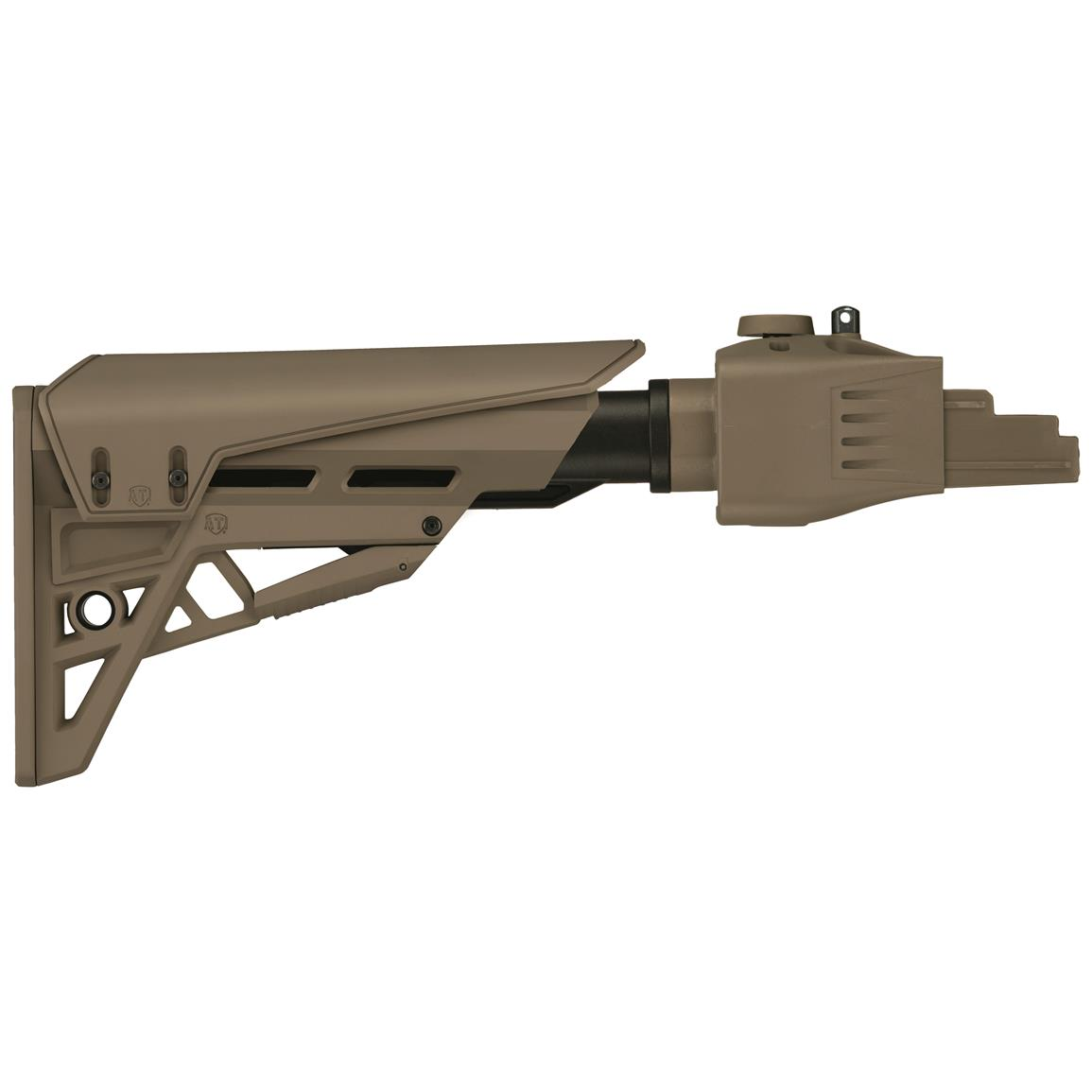 ATI TactLite StrikeForce R22 Folding Rifle Stock For Ruger 10/22 Rifles, Flat Dark Earth