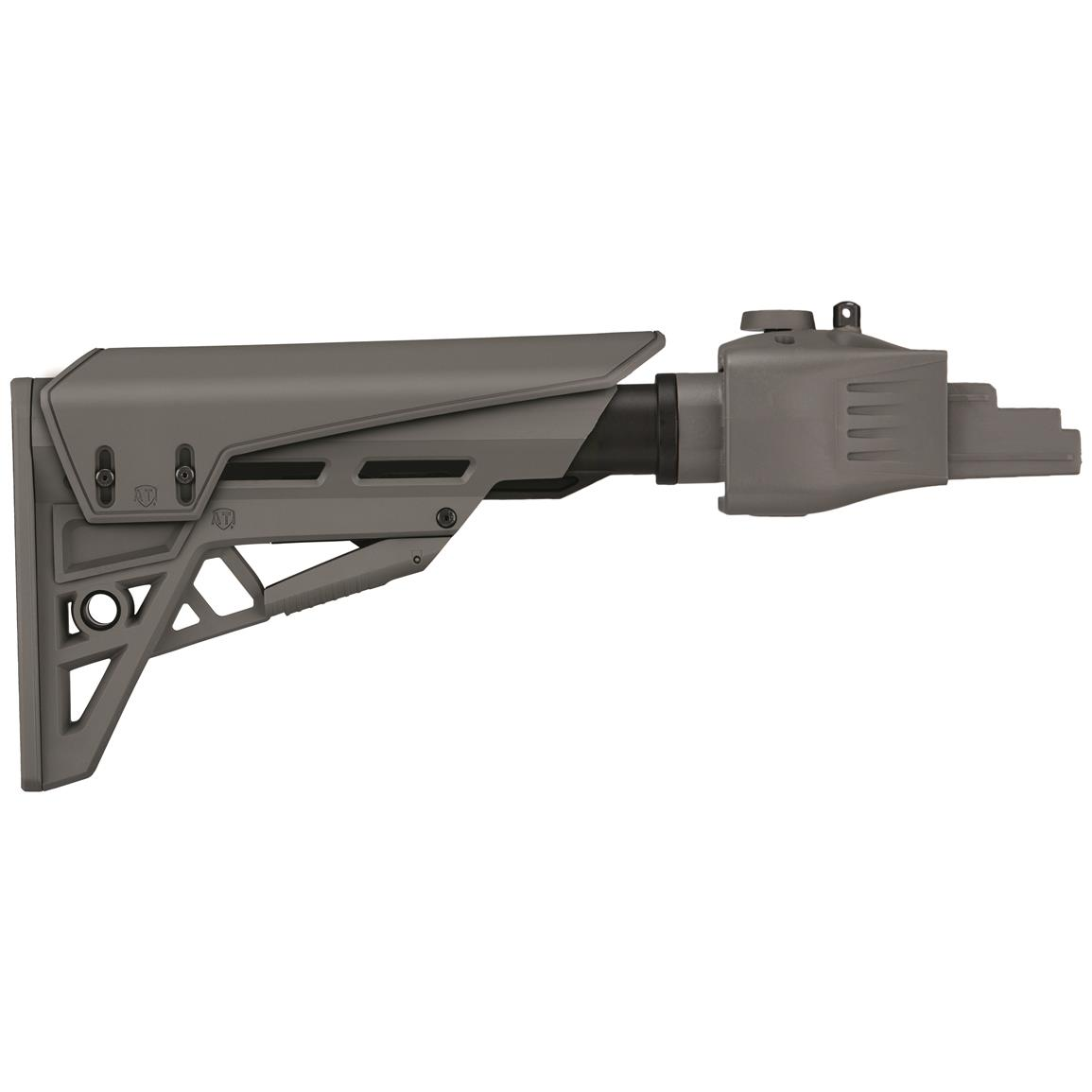 ATI TactLite StrikeForce R22 Folding Rifle Stock For Ruger 10/22 Rifles, Gray
