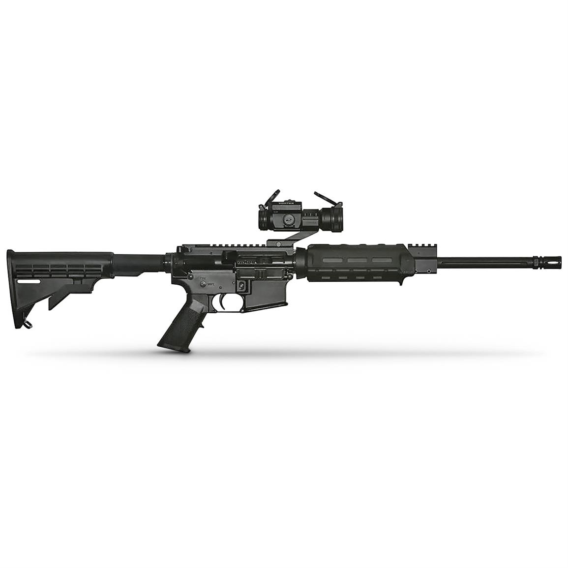 APF Econo Carbine, Semi-Automatic, .300 AAC Blackout, Vortex Strikefire II Red Dot Sight, 30 Rounds