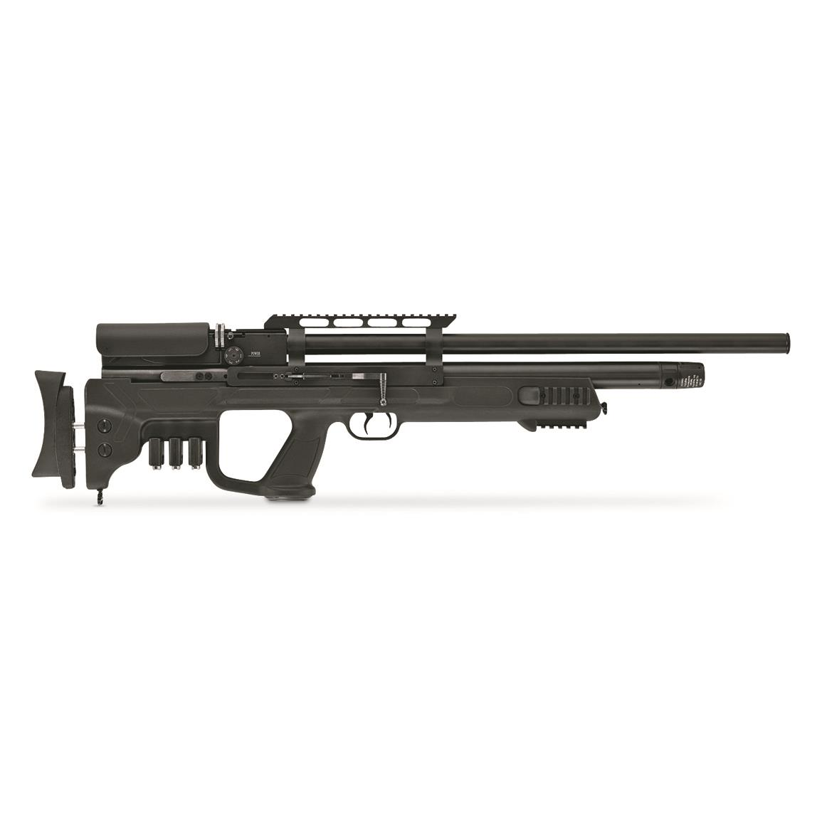 Hatsan Gladius PCP Air Rifle, Side-lever action, .177, .22 or .25 Caliber, PCP, 10/10/9 Rounds