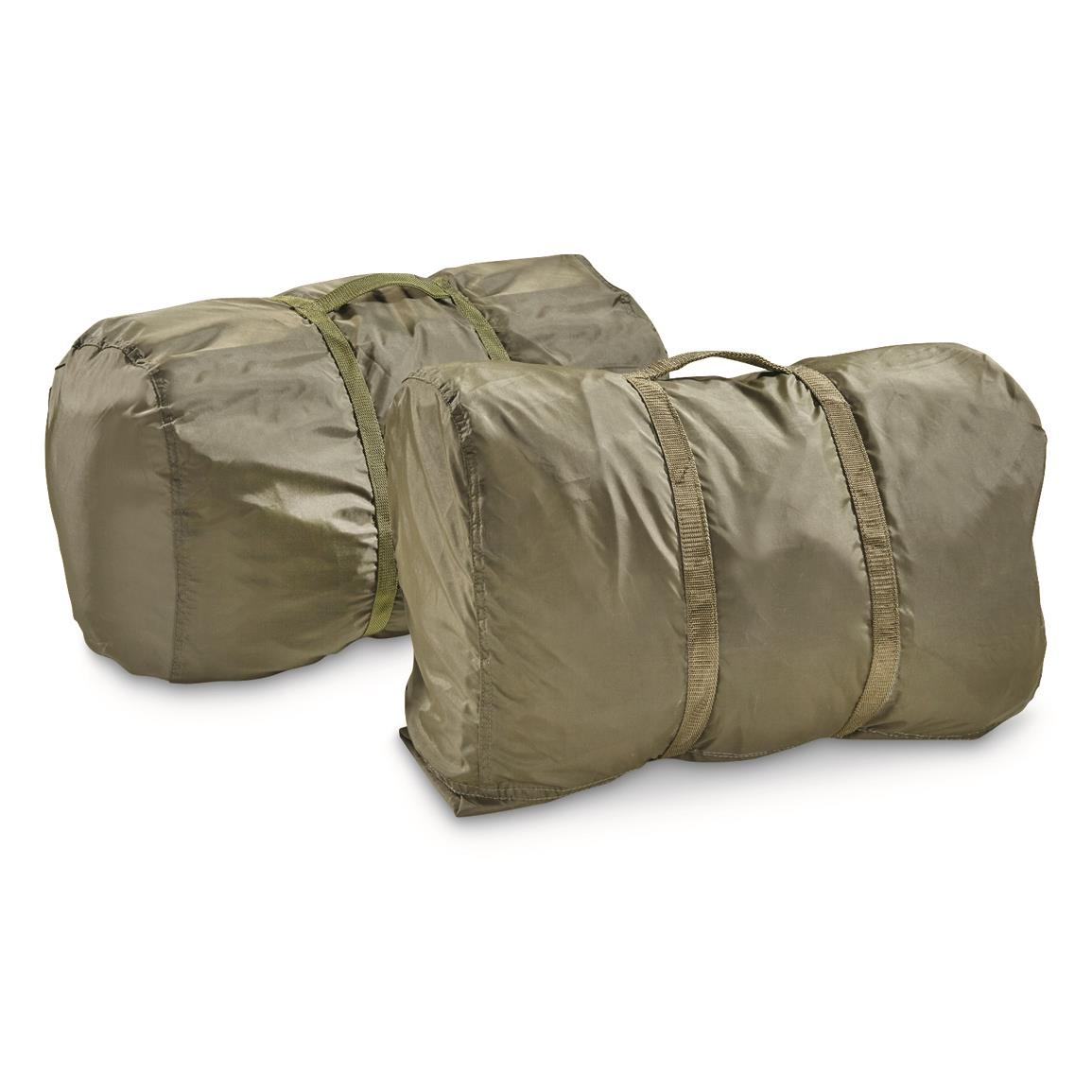 Italian Military Surplus Bivy Covers, 2 Pack, New