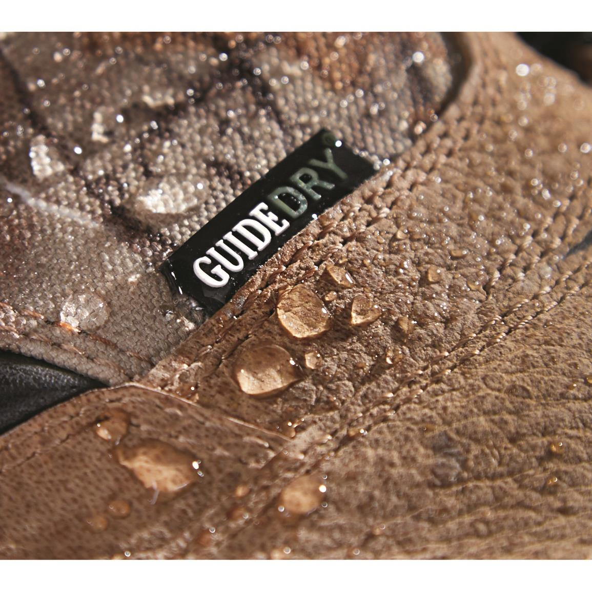 Guide Dry® technology for 100% waterproof performance