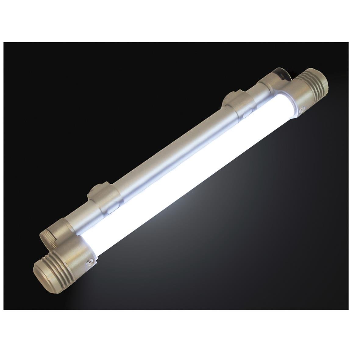 Unique polycarbonate tube light diffuser
