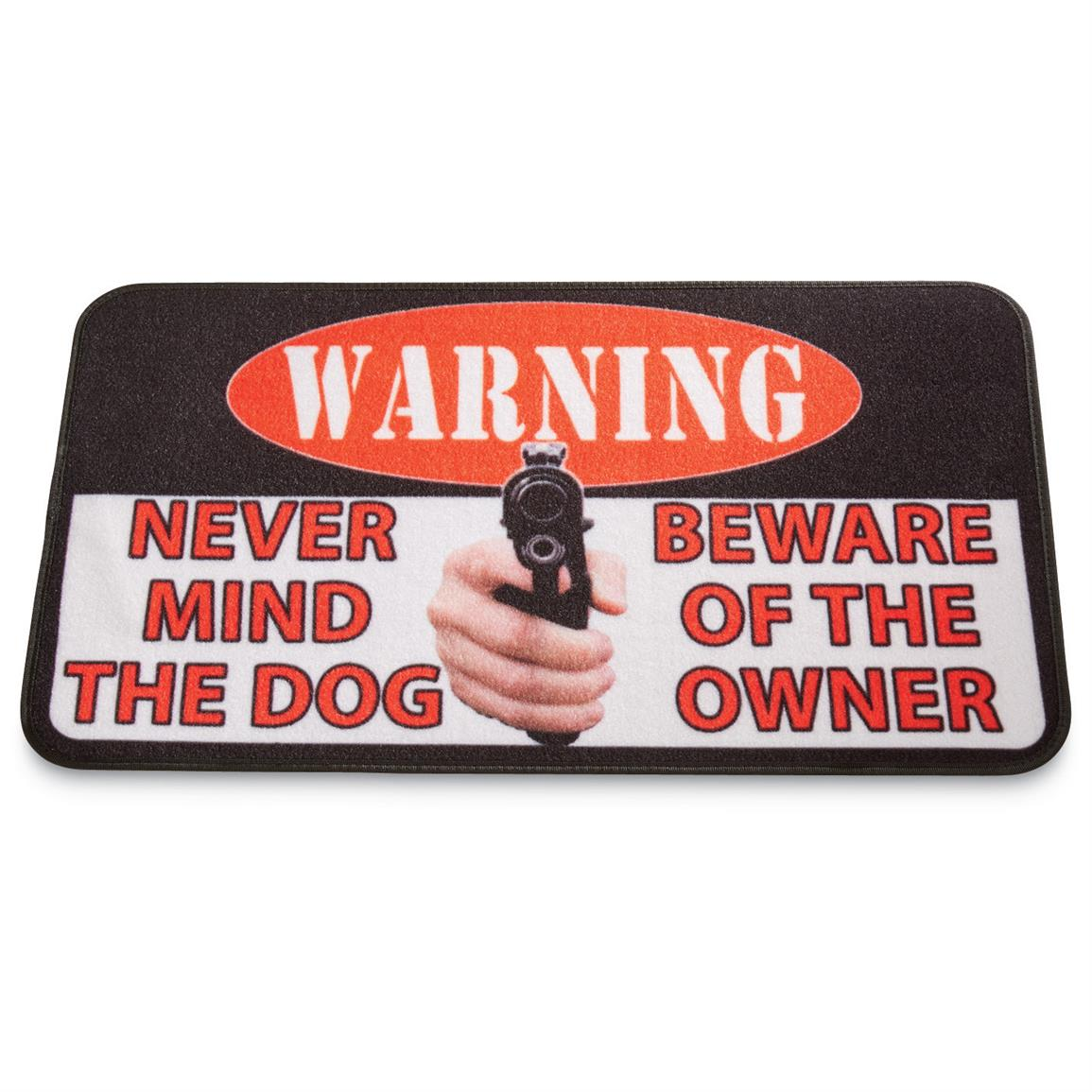 Beware of Owner Doormat