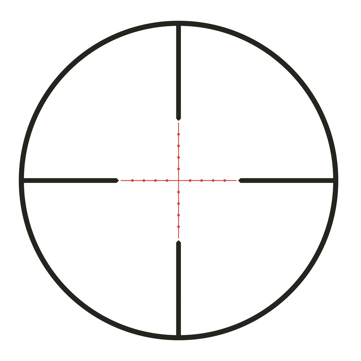 Illuminated Mil-dot reticle