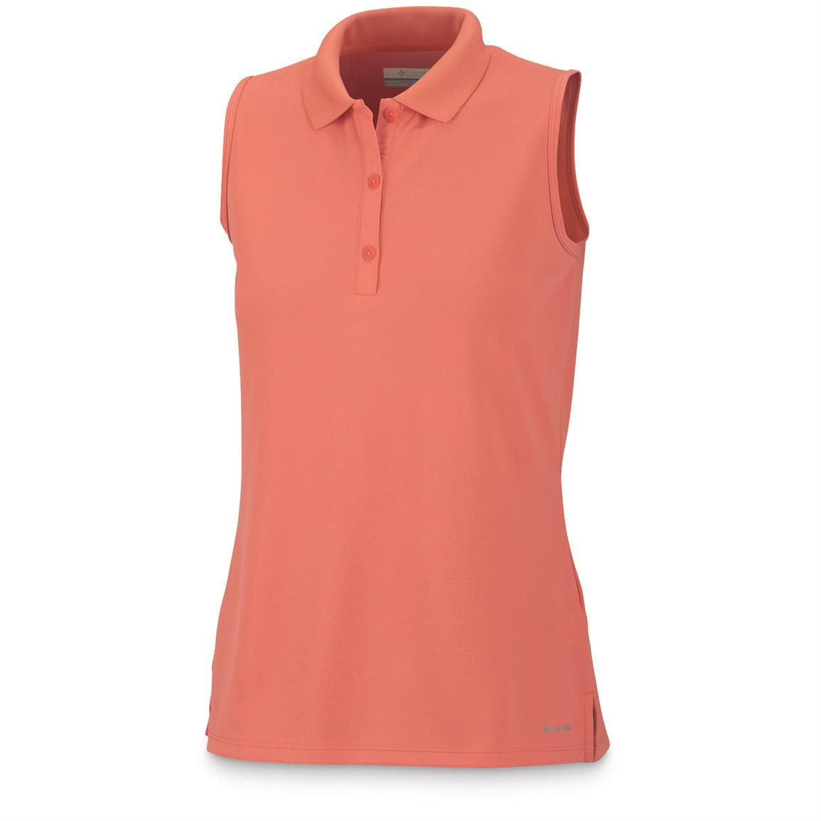 Columbia Women's Innisfree Sleeveless Polo Shirt, Melonde