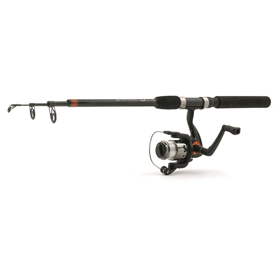 Ready 2 Fish Telescopic Spinning Rod and Reel Combo with Tackle Kit