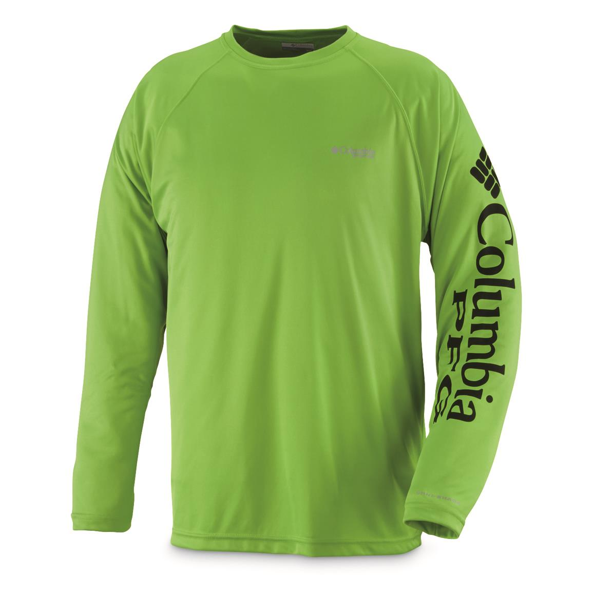Columbia men 39 s pfg terminal tackle long sleeve shirt for What is a pfg shirt