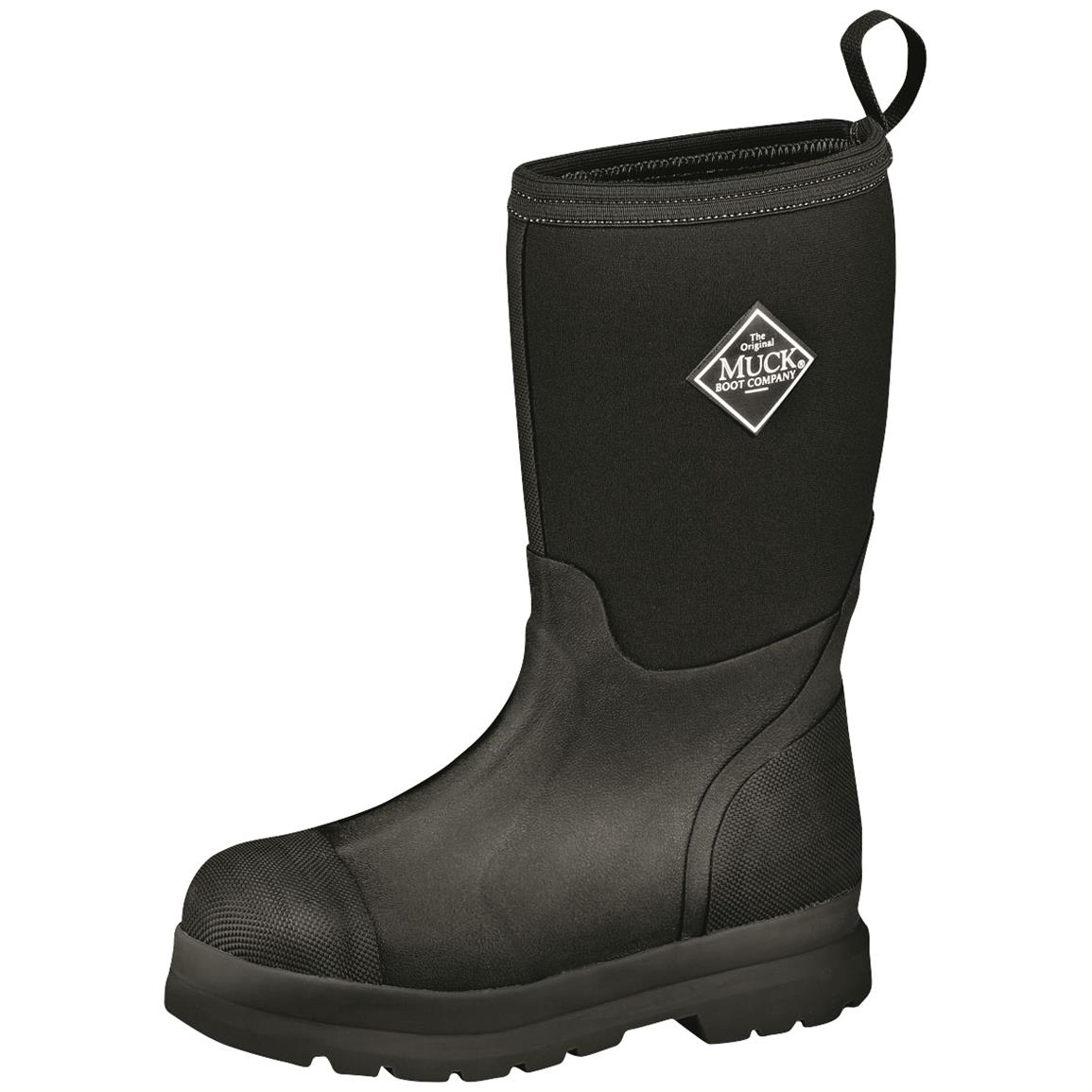 Muck Boot  Kids' Chore Waterproof  Boots, Black