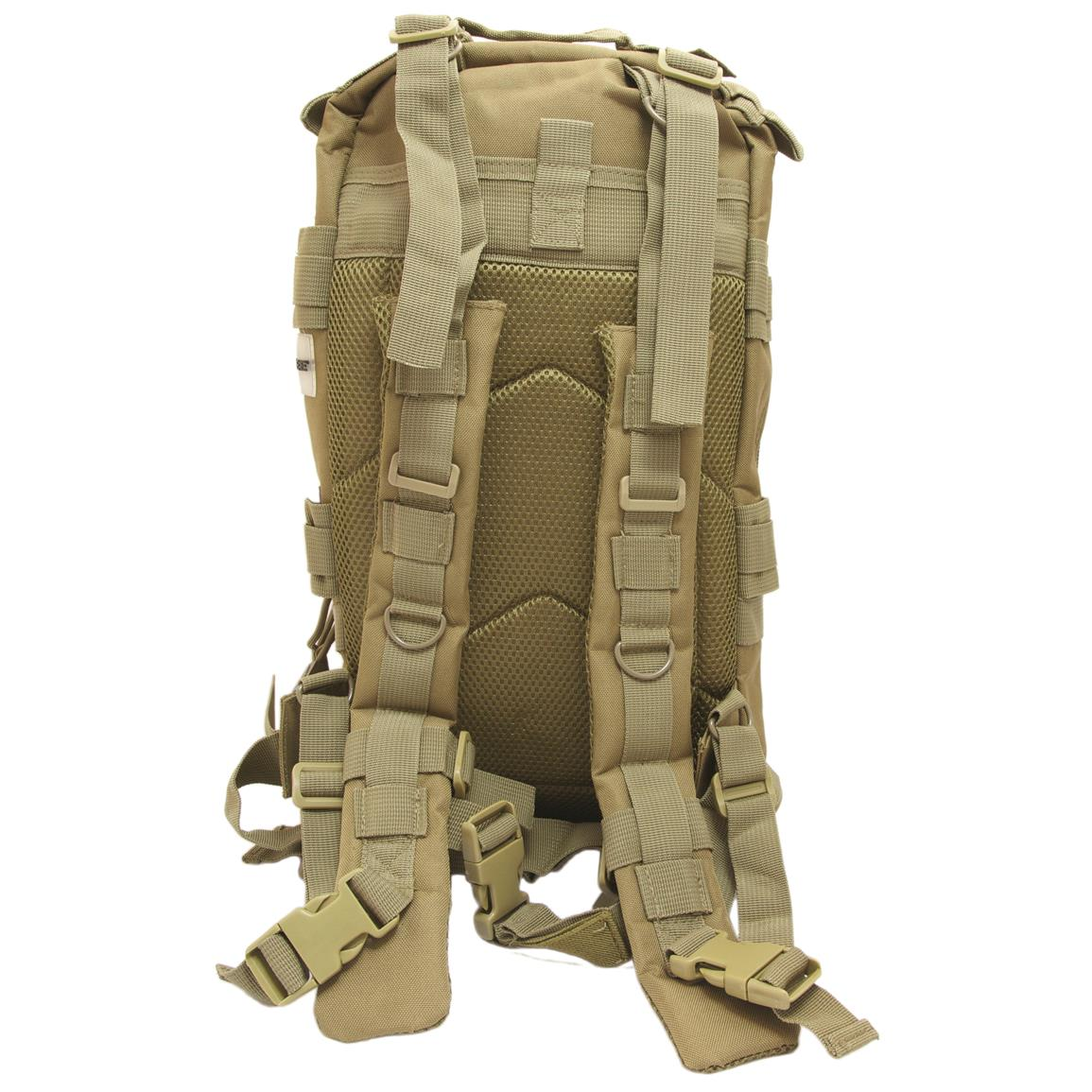 Humvee Transport Gear Bag, Tan, Back