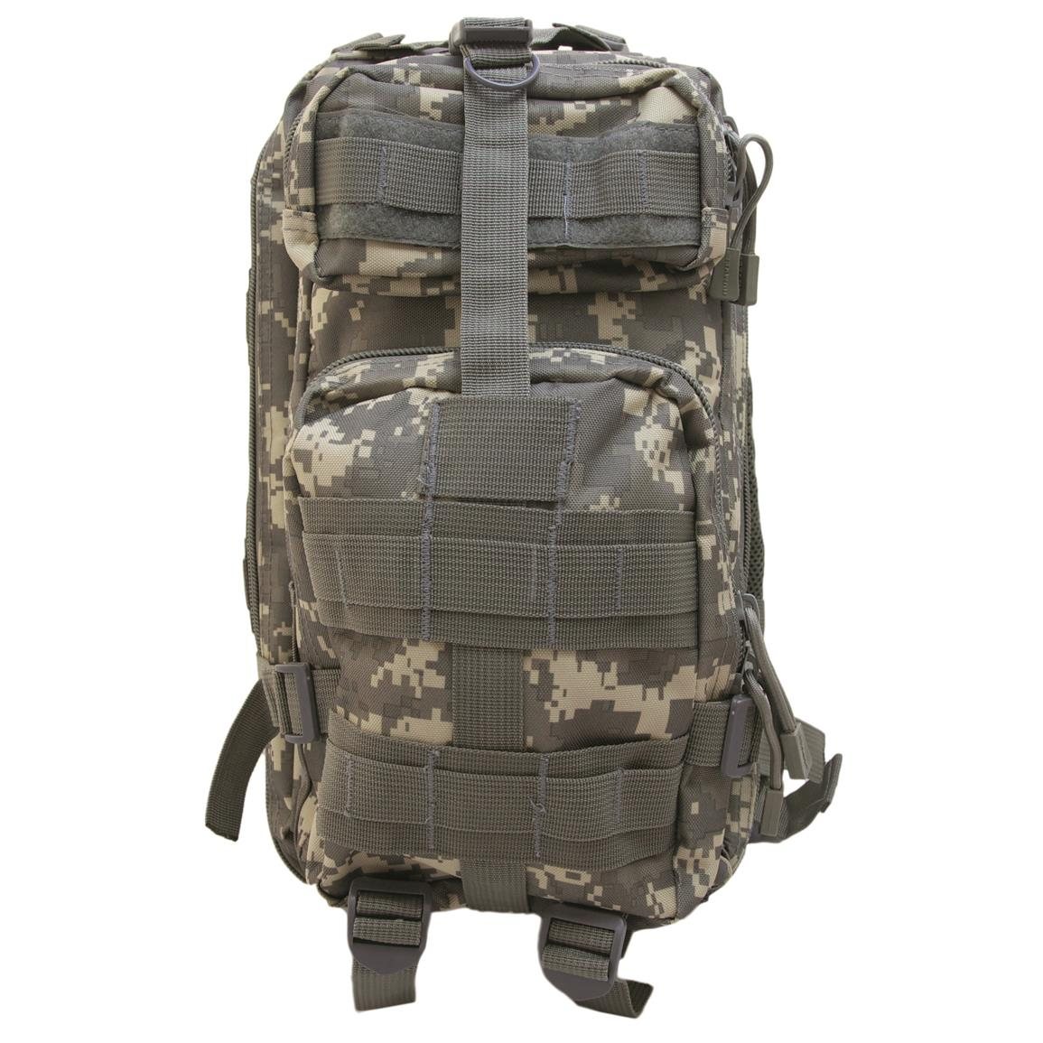 Humvee Transport Gear Bag, Digital Camo, Front