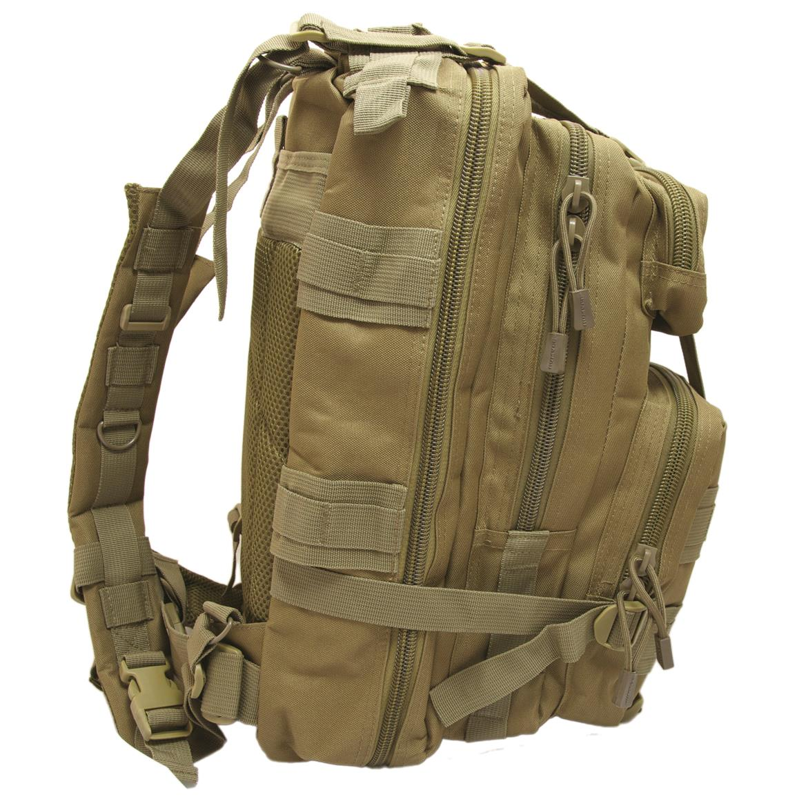 Humvee Transport Gear Bag, Tan, Side