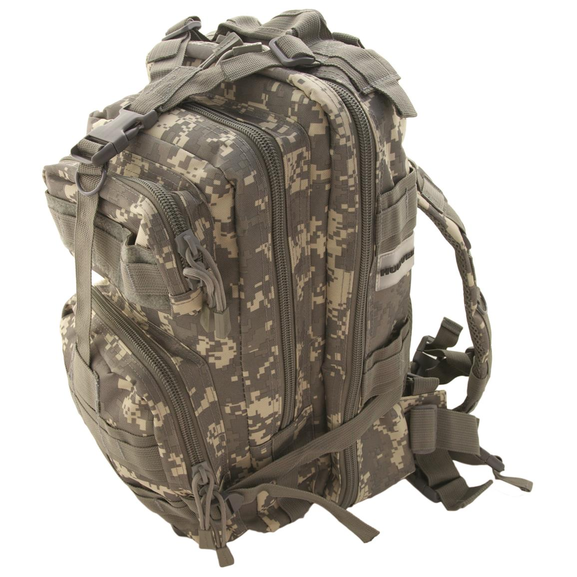 Humvee Transport Gear Bag, Digital Camo, Side