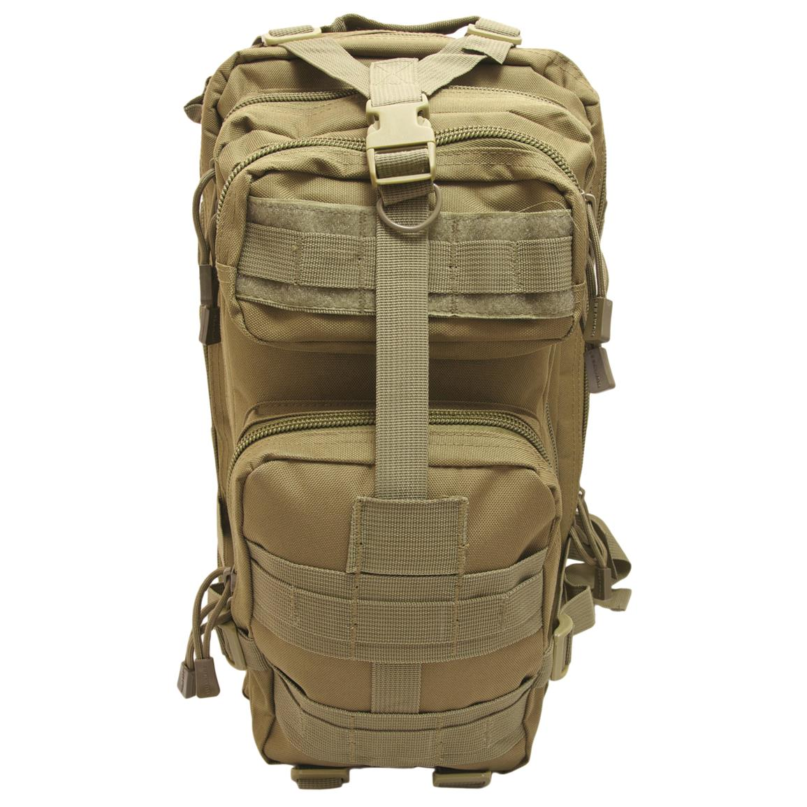 Humvee Transport Gear Bag, Tan, Front