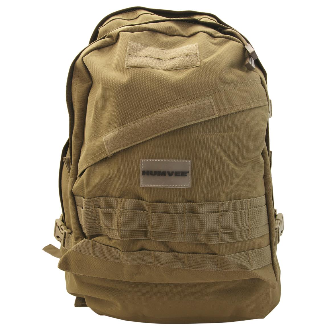Humvee Day Pack Gear Bag, Tan