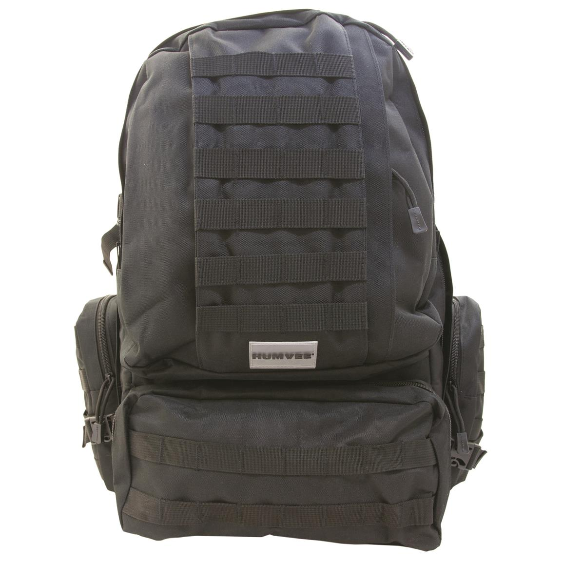 Humvee 3-Day Assault Backpack, Black