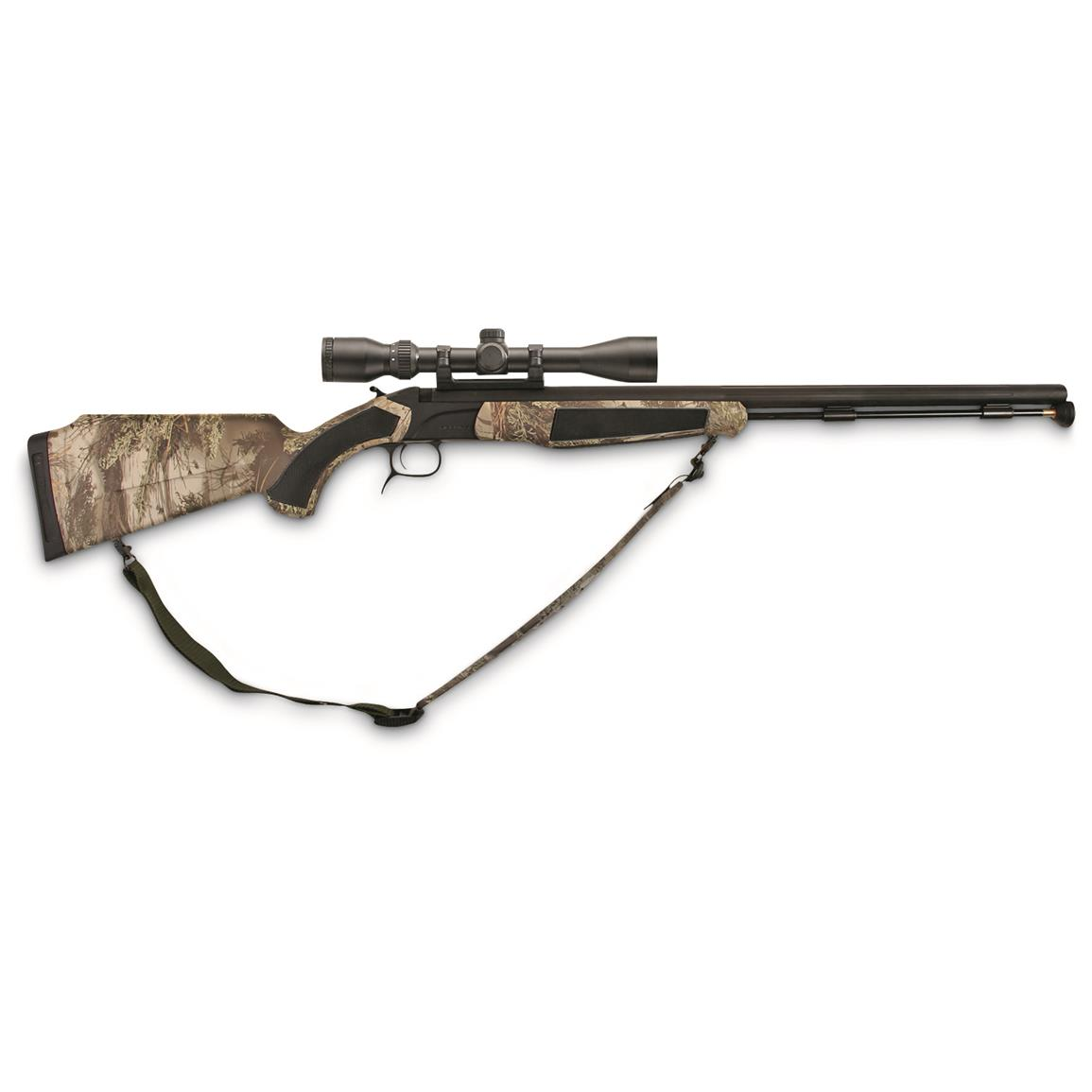 CVA Accura MR Nitride Stainless Steel .50 Caliber Muzzleloader with Dead-on Mount & Scope, Blemished