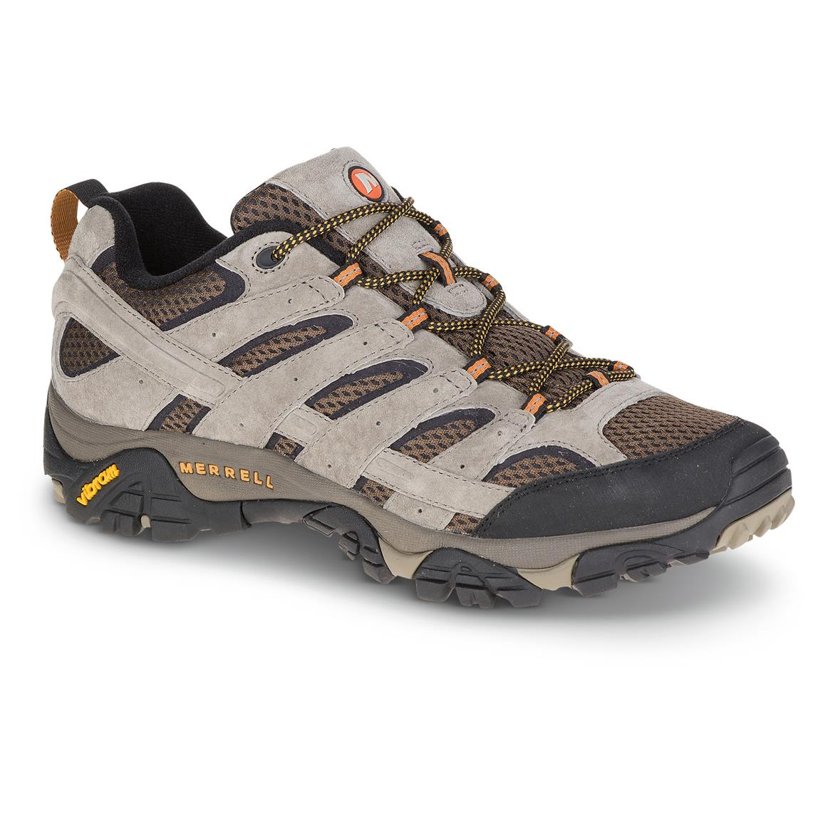 Merrell Men's Moab 2 Vent Hiking Shoes, Walnut