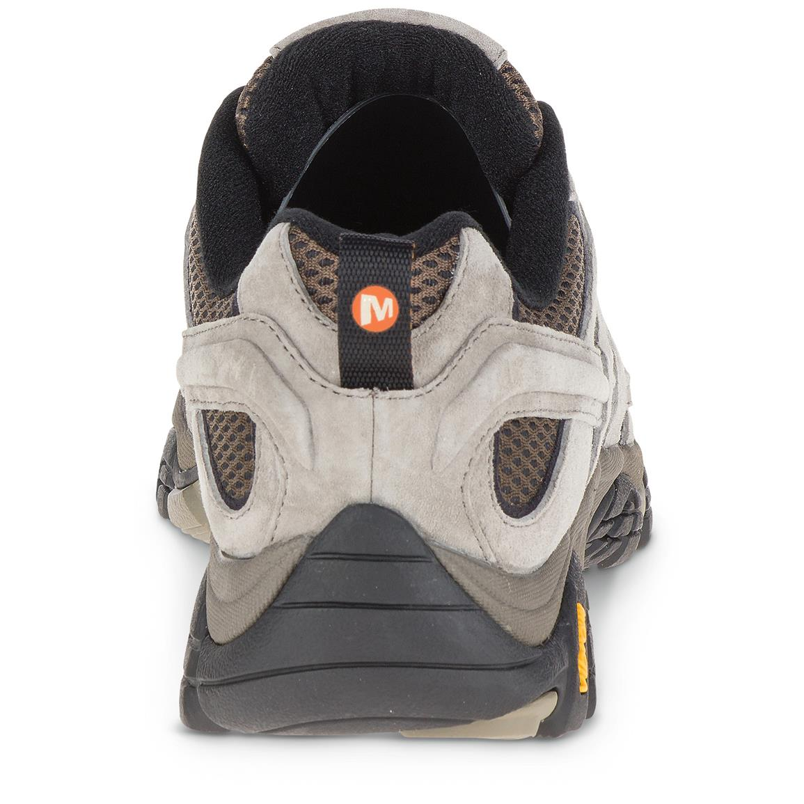 Merrell Air Cushion in the heel helps absorb shock and adds stability